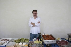 Giuseppe and his extraordinary buffet