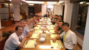WCSS2012 Dinner