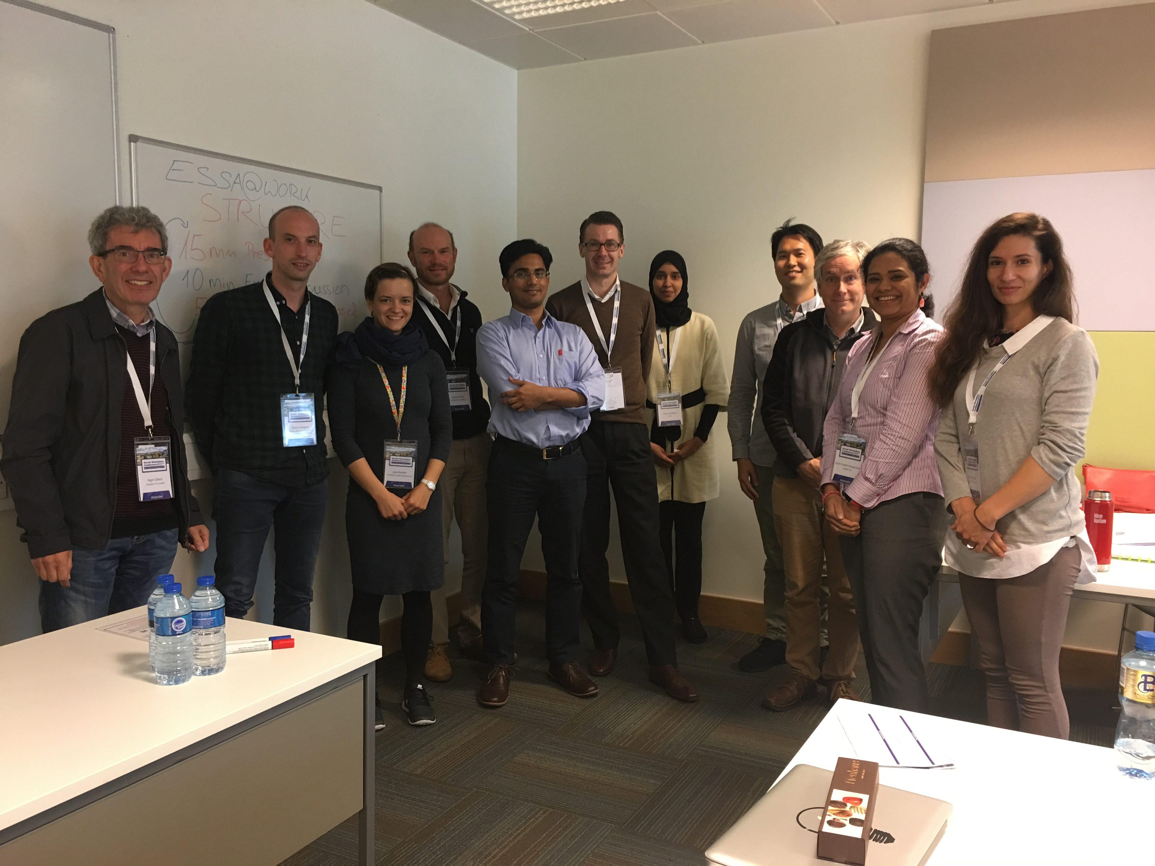 ESSA@work 2017 Dublin Meeting
